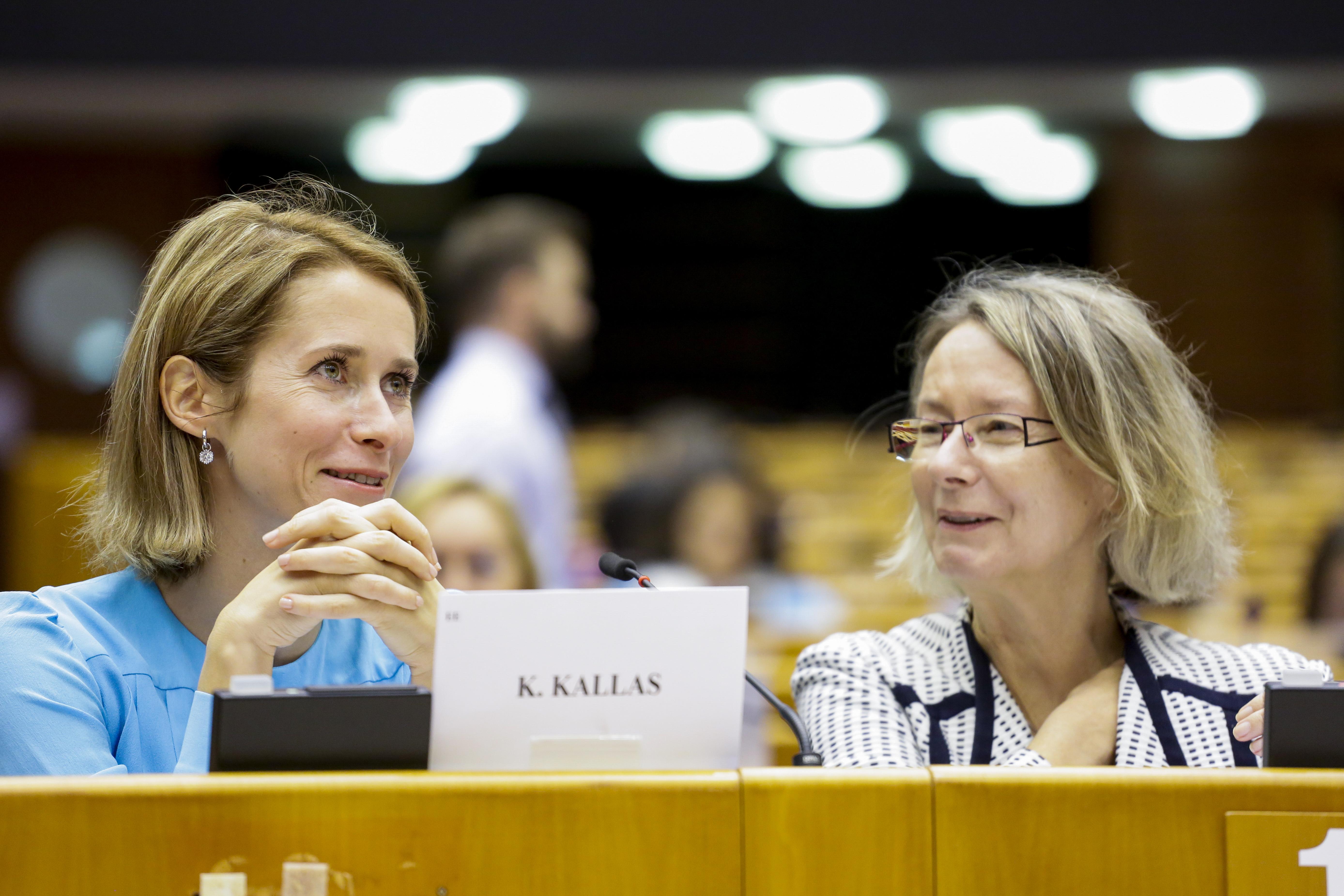 KALLAS, Kaja (ALDE, EE), GEBHARDT, Evelyne (S&D, DE)
