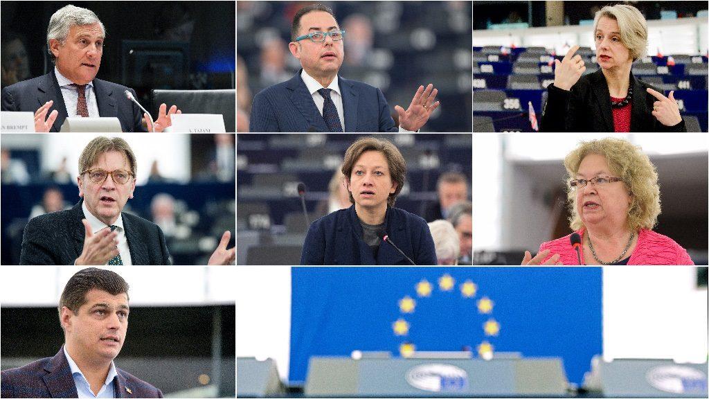 Euroopa Parlamendi presidendi ametikoha kandidaadid